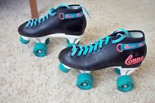 Roller Derby Cobra Roller Skates Men 6 Black White Teal