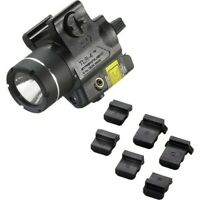 Streamlight 69240 Compact Rail-Mounted Tactical Light with Red Laser
