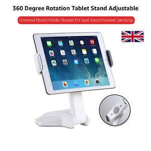 Portable Latest Tablet Holder Stand 7-15'' Desktop Table Desk Mount For iPad/Tab