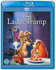 Lady And The Tramp (Blu-ray, 2012)