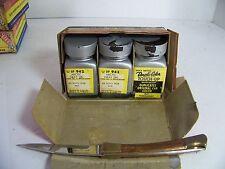 1958 DE SOTO DUPLI-COLOR TOUCH-UP ARCTIC GRAY NOS ORIG 3 BOTTLE BOX