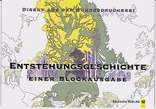 BRD Bund Sonderfaltblatt 1997 MiNr. 1918-1919 Block 38 Entstehungsgeschichte