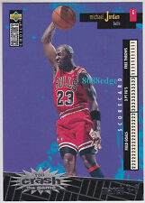 "1996-97 COLLECTOR'S CHOICE CRASH THE GAME: MICHAEL JORDAN #C30 SCORING ""MARCH 3"""