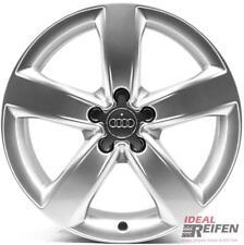 4 Audi A4 S4 8K B8 18 Zoll Alufelgen Original Audi Felgen 4GM silber OEM