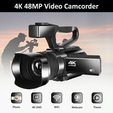 Video Camera Complete 4K Ultra HD 48MP Live Streaming Digital Touch Screen Zoom