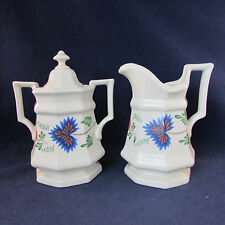Henry Ford Museum Simpsons GREENFIELD VILLAGE Creamer & Sugar Set