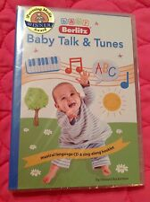 BABY BERLITZ: BABY TALK & TUNES NEW WITH AUDIO CD & SING-ALONG BOOKLET