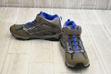 Merrell Women's Moab Fst Low Waterproof Sneaker - Dark Gray/Blue - Size 6 W