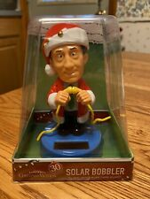 Solar Powered Dancing Bobble Head Toy New - LARGE Christmas Vacation- Clark