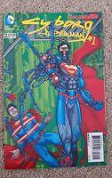 DC COMICS - CYBORG SUPERMAN #1 - 23.1 - 3-D VARIANT COVER - THE NEW 52