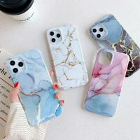 Marble Phone Case For iPhone 12 Pro Max 11 Pro XS XR X 8 7 Shockproof Hard Cover