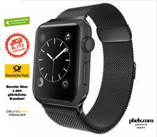 phelx Edelstahl Armband für Apple Watch 38mm & 40mm - Schwarz