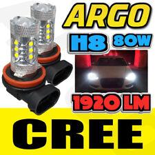 H11 H8 Cree 80w Led Smd Canbus Error Free Cree Cob Audi Bmw Vw White 8500k