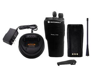 Used Motorola CP200 UHF 438-470MHz 4 Channel 4 Watt Radio