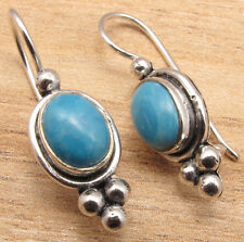 Larimar Girls' Art Earrings New Additional Items! Silver Plated Simulated