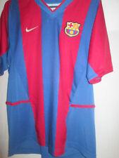 Barcelona 2002-2003 Home Football Shirt Tamaño jóvenes Extra Grande / 35159