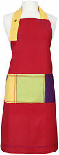 Rushbrookes Cotton Adults Apron Terracota Red - 16160550