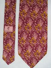 -AUTHENTIQUE cravate cravatte  ROCCOBAROCCO 100% soie  TBEG  vintage