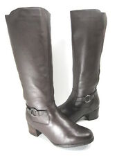 BLONDO WOMEN'S LANE KNEE-HIGH BOOT JAVA TUCSON LEATHER US SIZE 7 EXTRA WIDE (E