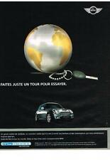 PUBLICITE ADVERTISING  2004   MINI COOPER S