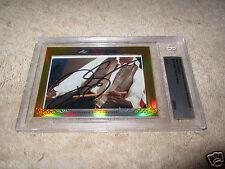 Ralph Sampson 2014 Leaf Masterpiece Cut Signature auto signed autograph card 1/1