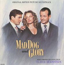 Mad Dog and Glory [Original Motion Picture Soundtrack] Elmer Bernstein (CD 1992)