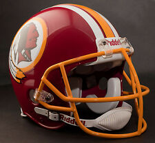 JOHN RIGGINS 1982 WASHINGTON REDSKINS Schutt NOPO-SW Football Helmet FACEMASK