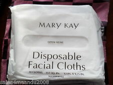 New & Sealed Mary Kay Disposable Facial Cloths Pk of 30 ~ Quick Ship