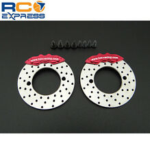 Hot Racing Brake Disc and Caliper - fits SCX10 II SCXT21R02