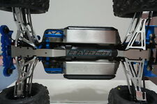 TRAXXAS E-REVO SUMMIT Stainless Steel Front Rear Skid Plate Battery Protector