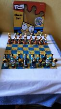 The Simpsons Chess Set - Ages 8 & Up - used