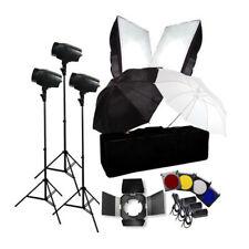 Photo Flash Kit 540W Photography Studio Strobe Light Umbrella Softbox