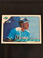 1996 Score Baseball #51 Andre Dawson Florida Marlins