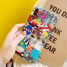 Cute Cartoon Simpsons TPU Silicone Phone Case Cover For i Phone XS Max XR 8 7 6