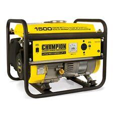 42436R- 1200/1500w Champion Generator, manual start - REFURBISHED