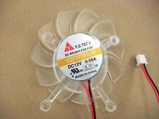 65mm VGA Video Card Fan For Asus 8600GT 9500gt YD127015LS #M344 QL