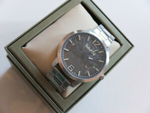 Timberland Men's Quartz Watch With Black Analogue Display Watch New Boxed