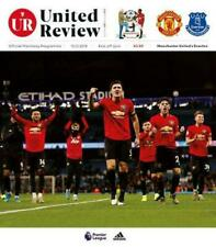 Man Utd Manchester United v Everton Programme Review 15th December 2019 PL