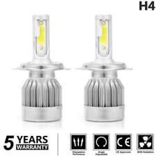 2x CREE H4 200000LM 1000W LED Headlight Kit Hig/Low Turbo Light Bulbs 6000K