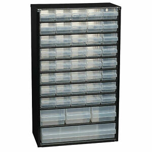 Raaco 123761 C11-44 Steel Storage Cabinet 44 Drawer Hobby Electronics Component