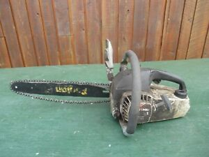 """Vintage CRAFTSMAN 2.3/33 Chainsaw Chain Saw with 14"""" Bar"""