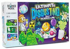Ultimate Disgusting 3 in 1 Science Lab Kit Child Gross Experiments Set *
