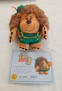 Toy story Mr Prickle Pants Signature collection plush teddy bear  Pixar Disney