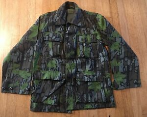 Vintage Deadstock Trebark Hunting Camo Thick Shirt Adult Size Small