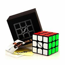 CuberSpeed QiYi Valk 3 3x3x3 Black Magic cube QiYi MoFangGe The Valk 3 3X3X3 New