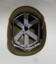 WWII US M1 Helmet Hawley Fiber Liner Complete Movie Prop USMC Pacific Rayon PTO
