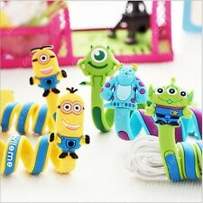 Cute Cartoon Cable Lan HDMI Wire Cord Clip Organizer Tie Fixer Holder Free Ship