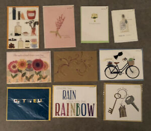 10 new papryus cards Congratulations Happy Graduation Thank You Get Well LOT