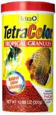 Tetra 16262 TetraColor Tropical Granules, 10.58-Ounce, 1-Liter .