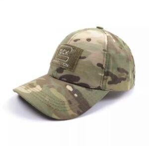 Glock Baseball Cap with Adjustable Strap - Camo (Brand New)